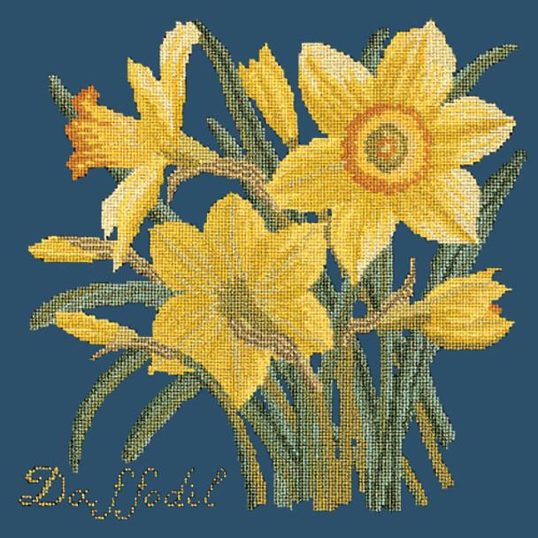 2928db51de6f38 BG02 Daffodil Dark Blue Background Kit Elizabeth Bradley Designs ...