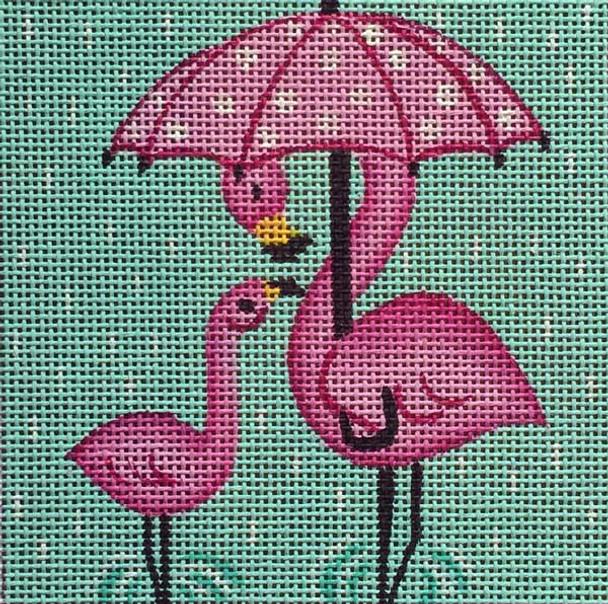 2eb93ac96 SS238 Umbrella Flamingo 4 x 4 Nenah Stone Designs 18 Mesh - The ...