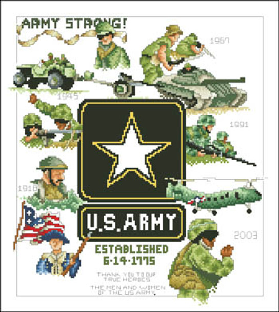 29eea50a0 Army by Vickery Collection 17-1930 - The NeedleArt Closet