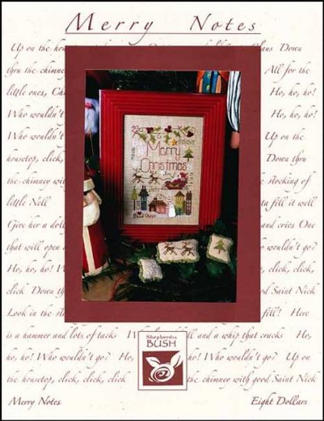 ce24c70a80d Merry Notes 53W x 75H Shepherd s Bush 18-2827 YT - The NeedleArt Closet