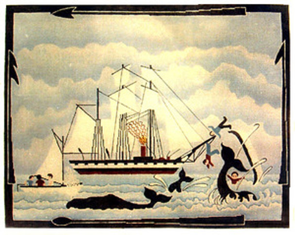 f6e1d321878b B-59 Whaling Ship Horizontal 12 Mesh Anne Cram - The NeedleArt Closet