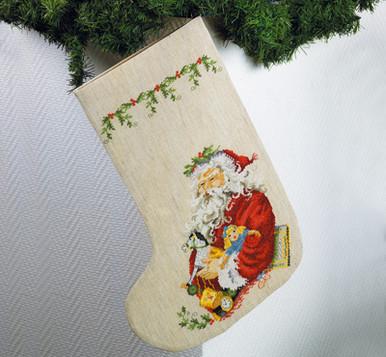 Notre Dame ND Christmas Stocking Glitter Custom