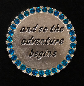 And So The Adventure Beginsl Chatter Buddy Needle Minder The