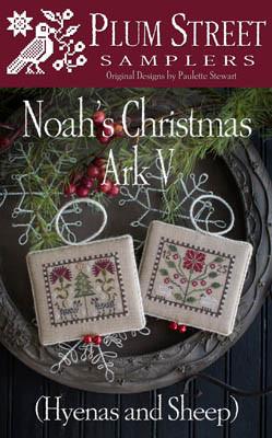 3fda2a13f Noah's Christmas Ark V 58w x 48h Plum Street Samplers 18-2529 YT ...