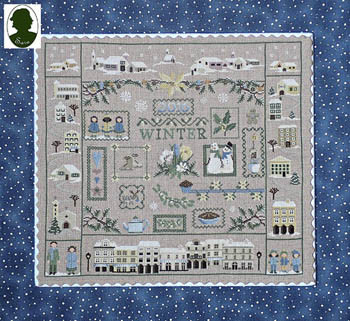 68257044c7 Winter Sampler by Sara 18-1210 - The NeedleArt Closet