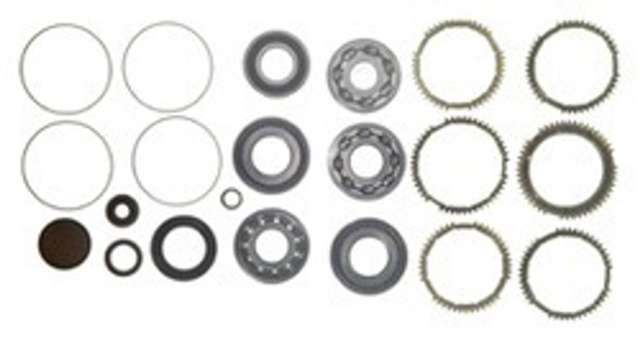 F5M42 TRANSMISSION REBUILD KIT WITH SYNCHRO RINGS FITS