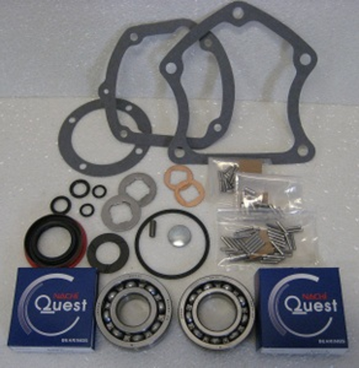 MUNCIE 318 3-SPEED (NO OVERDRIVE) TRANSMISSION REBUILD KIT FITS '53-'69 GM  (BK131A)