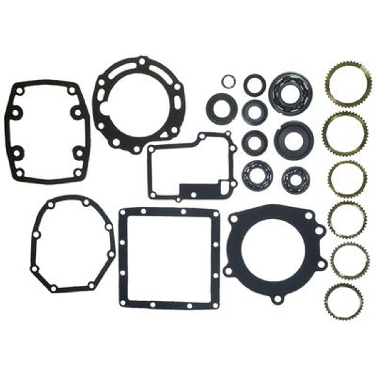FM132 TRANSMISSION REBUILD KIT WITH SYNCHRO RINGS FITS