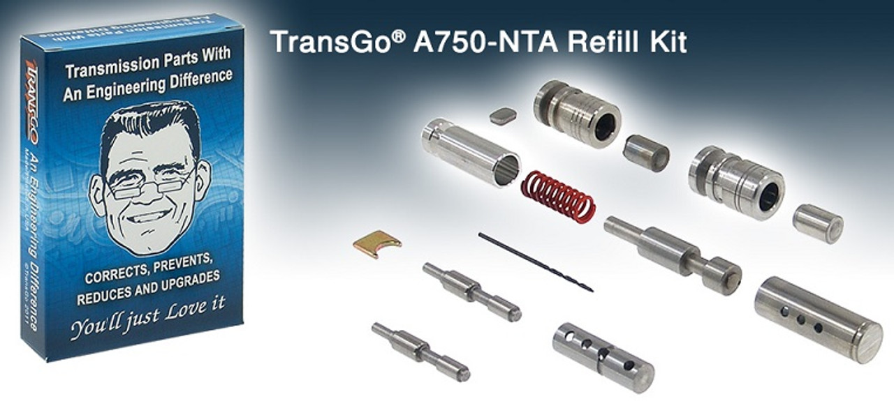 A750E A750F A761E A960E AB60E AB60F TRANSMISSION SHIFT KIT WITHOUT TOOLS:  REFILL PARTS FOR TRANSGO SK A750-WTA SHIFT KIT FITS '03+ TOYOTA TACOMA