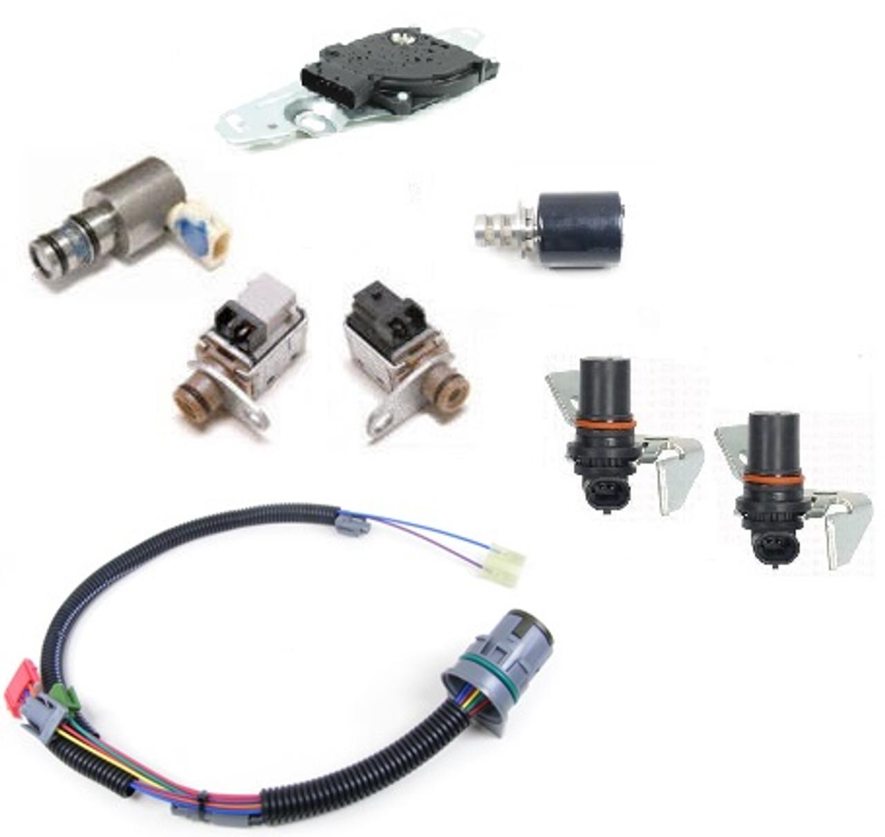 4L80E TRANSMISSION SOLENOIDS, SWITCH, WIRE HARNESS, & SENSORS KIT FITS  '95-'03 ORIGINAL EQUIPMENT - Transmission Parts DistributorsTransmission Parts Distributors