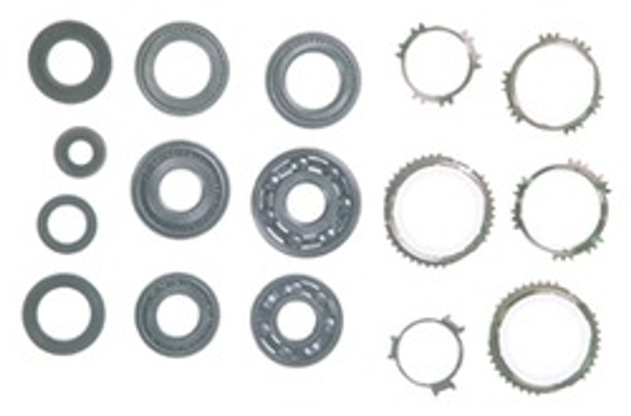 RS5F50A TRANSMISSION REBUILD KIT WITH SYNCHRO RINGS FITS