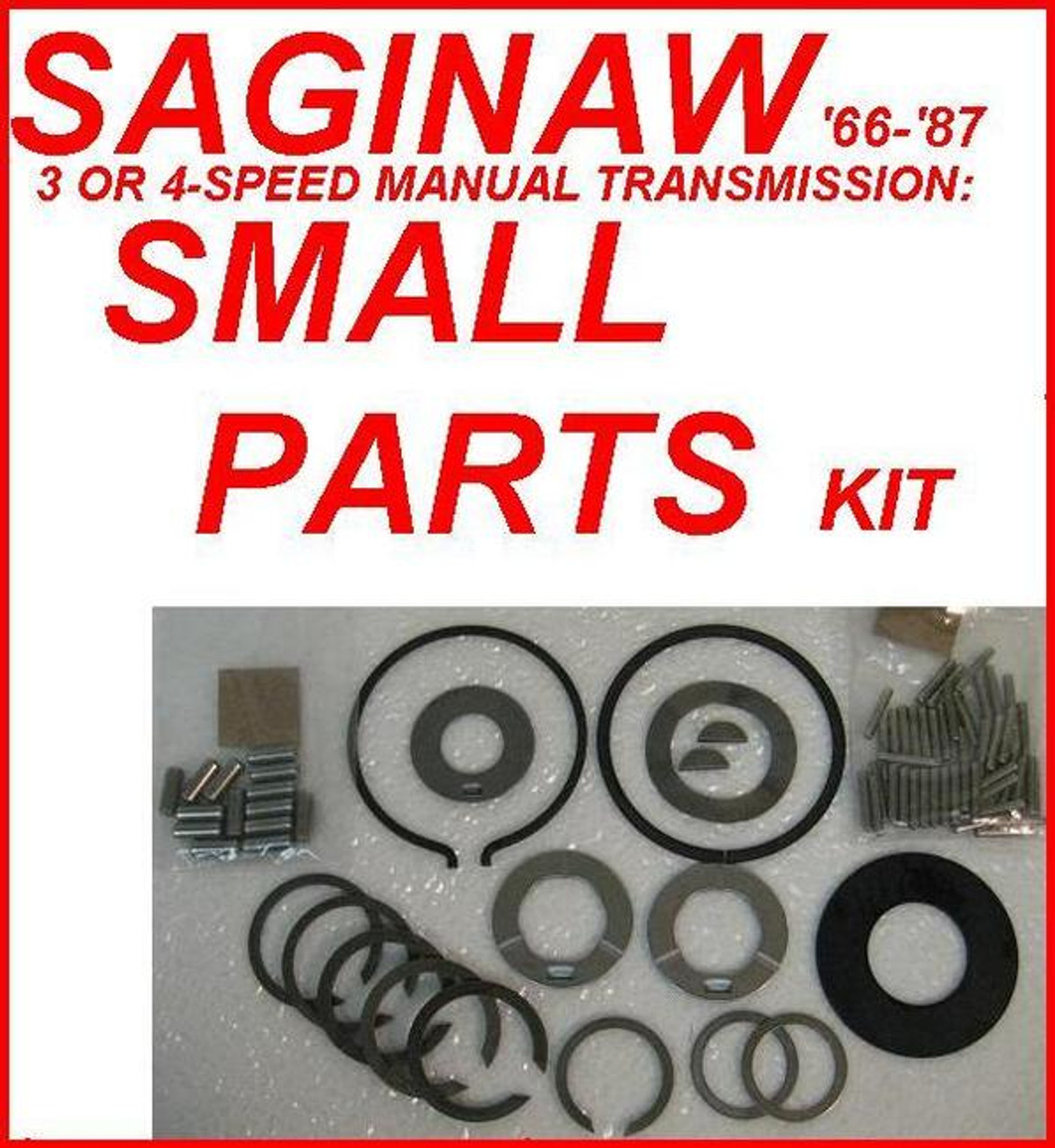 SAGINAW TRANSMISSION SMALL PARTS KIT FITS 3 & 4-SPEED '66-'87 (SP301-50)