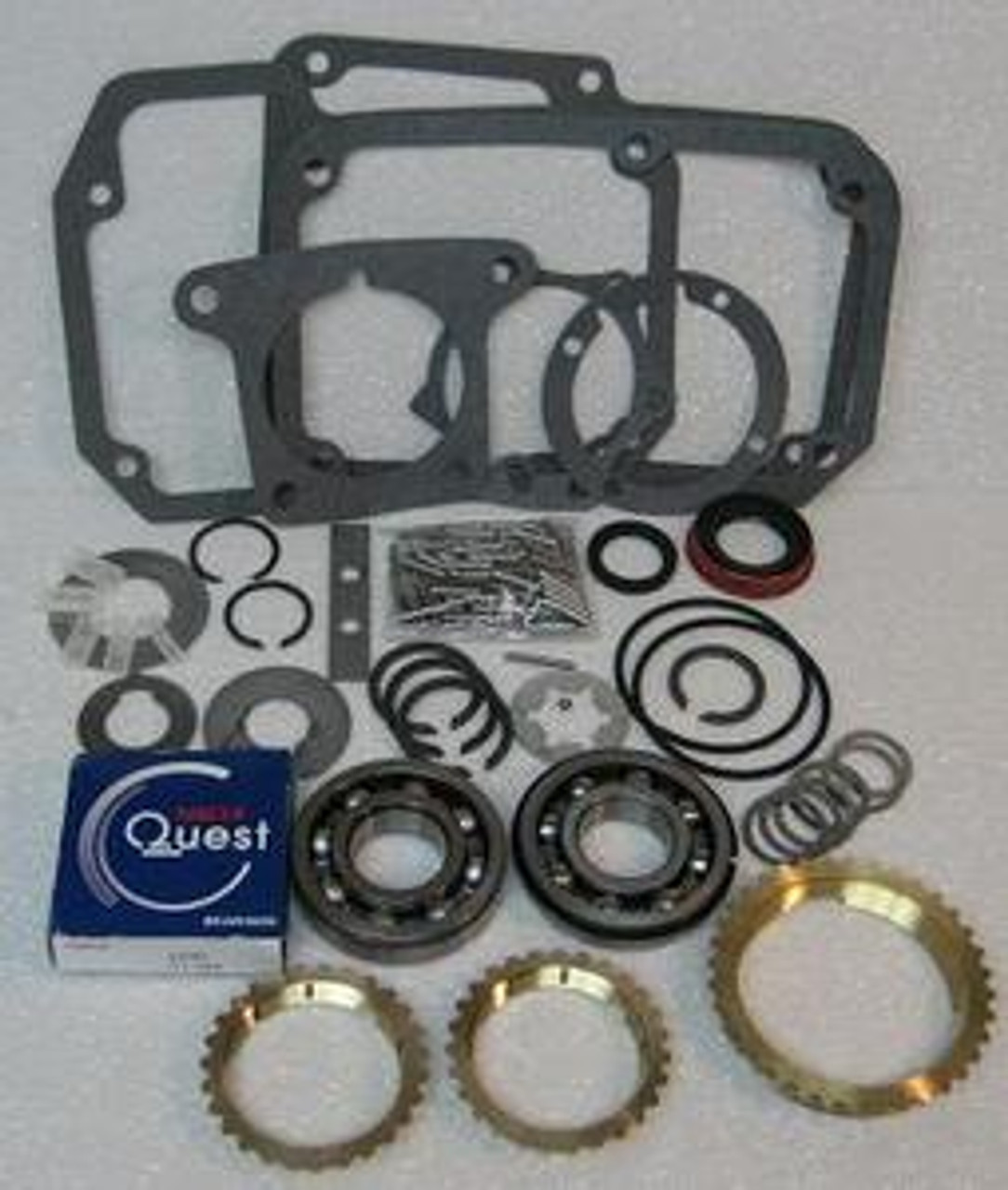 Jeep T18 transmission rebuild kit with rings