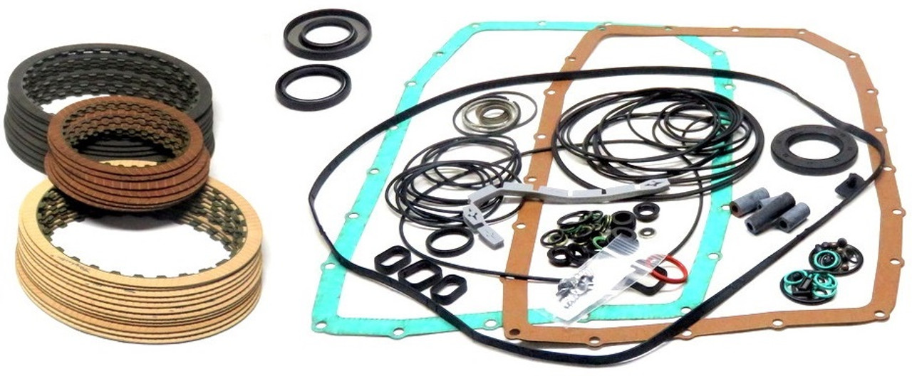 ZF6HP26 ZF6HP28 09E TRANSMISSION REBUILD KIT WITH AMERICAN MADE FRICTIONS  FITS ALL '02+ (95004)