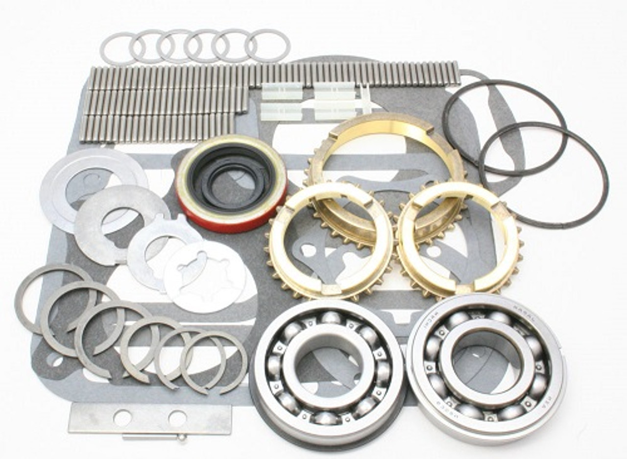 T98 TRANSMISSION REBUILD KIT WITH SYNCHRO RINGS FITS FORD TRUCK '55-'64  (BK141WS)