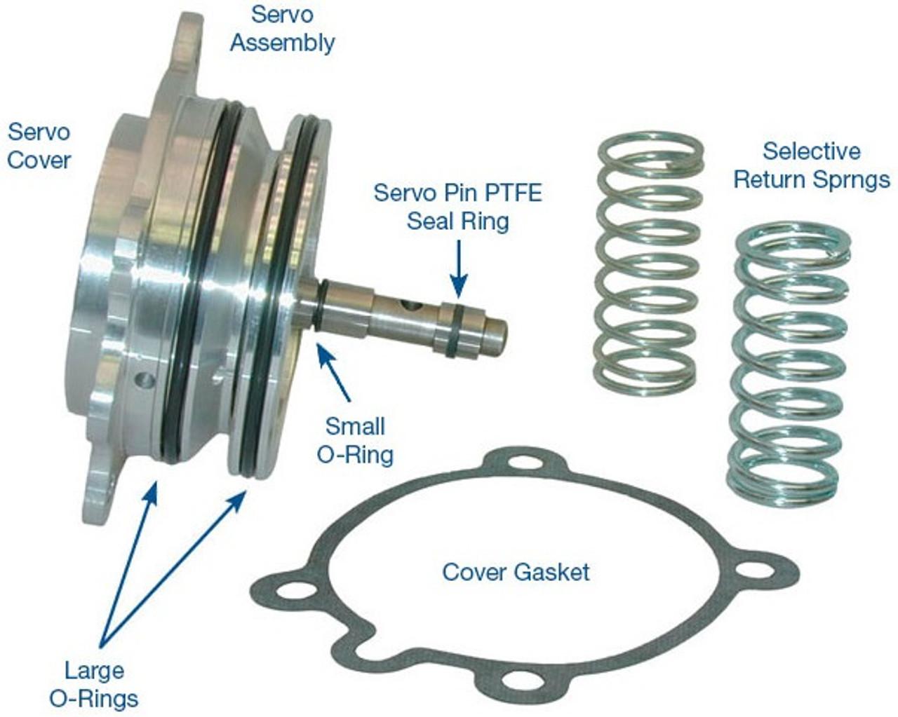 "C6 Ford Transmission Parts Superior C6 /""R/"" Super Servo"