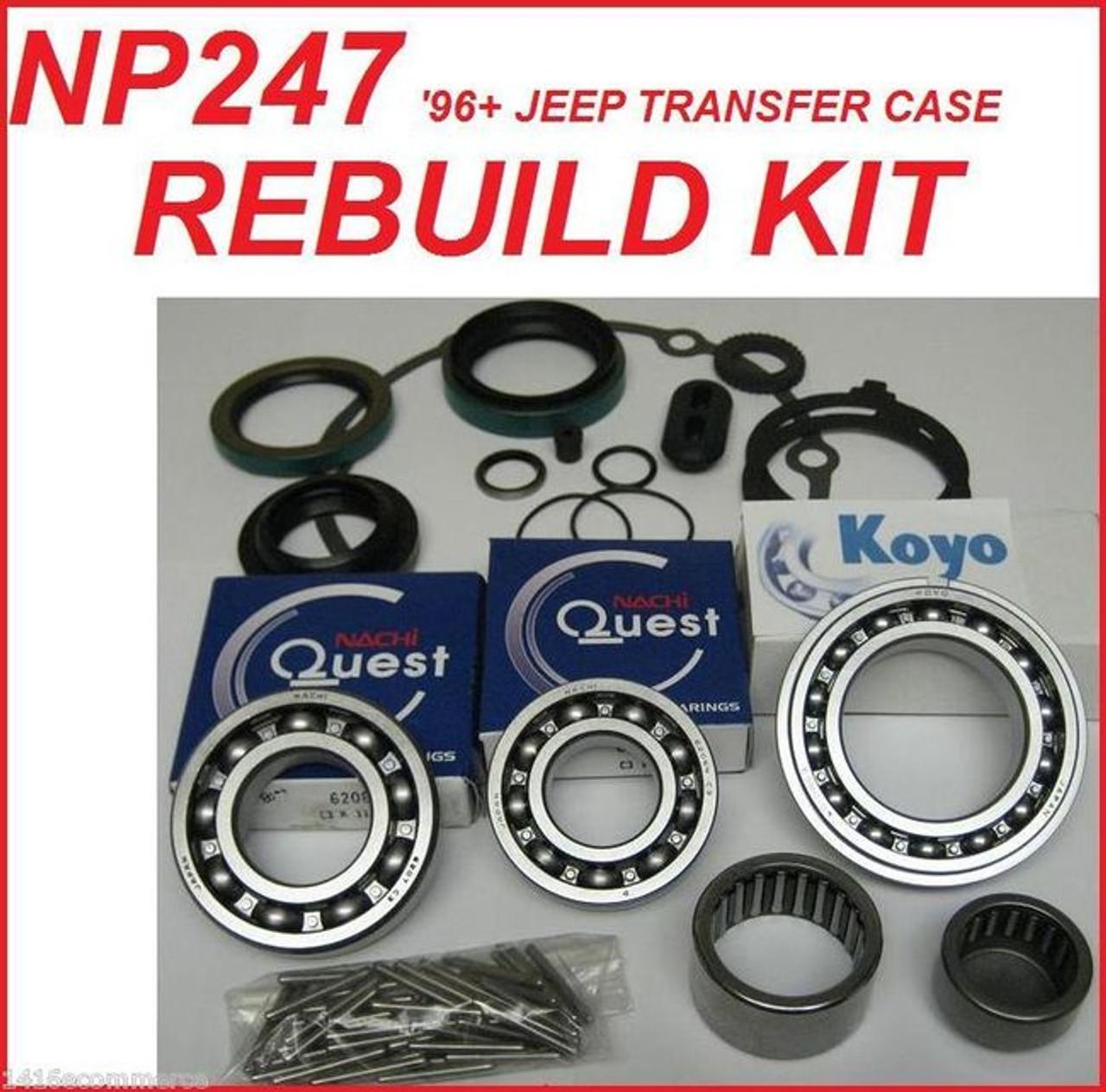 1996 jeep grand cherokee transmission rebuild