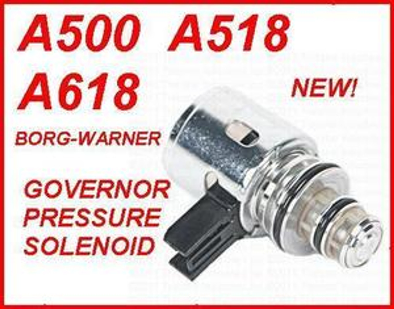A500 42RE 44RE A518 46RE 46RH A618 47RE 48RE TRANSMISSION GOVERNOR PRESSURE  SOLENOID BORG-WARNER UPDATED MADE IN USA FITS '93+ DODGE JEEP MITSUBISHI