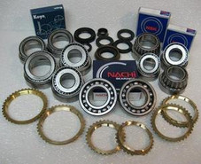 F5M33 TRANSMISSION REBUILD KIT WITH SYNCHRO RINGS FITS '93