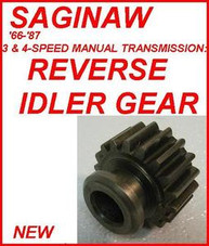 MANUAL / STANDARD TRANSMISSION - SAGINAW 3 & 4-SPEED - Transmission