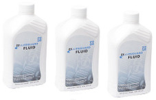 ZF LIFEGUARD 5 TRANSMISSION FLUID: THREE 1-LITER BOTTLES FOR