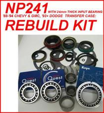 NP241DHD TRANSFER CASE REBUILD KIT FITS '94-'02 DODGE RAM