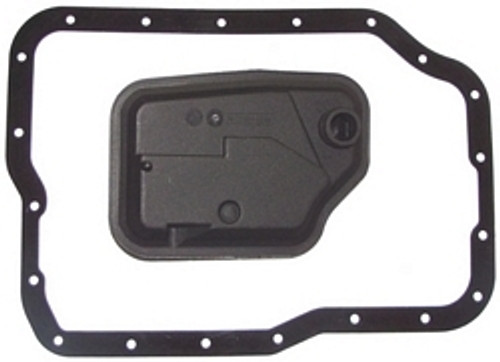 4F27E FORD & FN4A-EL MAZDA TRANSMISSION FILTER & FIBER GASKET FORD O.E. FITS '99+ FOCUS ETC FORD XS4Z-7A098AB FORD XS4Z-7A098AC