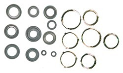 MR8 TRANSMISSION REBUILD KIT WITH SYNCHRO RINGS FITS '82