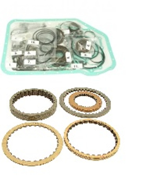 ZF 5HP19FLA 01L AWD TRANSMISSION MASTER REBUILD KIT WITH ZF FRICTION  CLUTCHES FITS '96+ AUDI & VW ALL WHEEL DRIVE (01L)