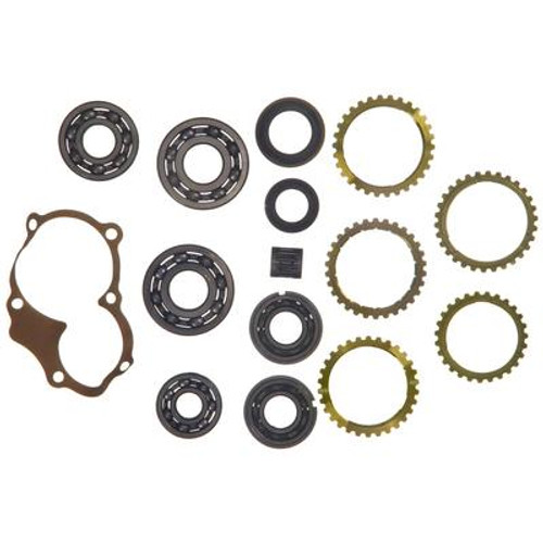 M6265RW MCOS5R RX7 B2000 TRANSMISSION REBUILD KIT WITH SYNCHRO RINGS FITS  MAZDA 626 RX7 B-SERIES & COSMO '76-'84 WITH 20 5mm THICK C/S BEARING