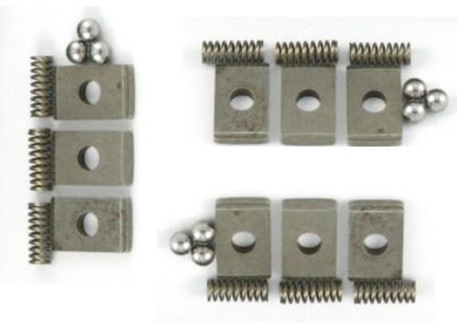 FORD ZF S5-42 TRANSMISSION: SYNCHRO KEYS SPRINGS & BALLS FULL SET FITS '87-'95 F250 F350  S542-K 359700-2K 0732041571 1307304156 0635460010, S5-42 TRANSMISSION PARTS , S542 TRANSMISSION PARTS , GEARBOX SPARES,