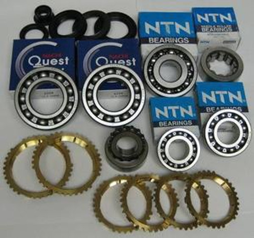 S80 Y80 YS1 SSO TRANSMISSION REBUILD KIT WITH SYNCHRO RINGS FITS ACURA INTEGRA 1.8L '92-'01 BK390WS , S80 PARTS, S80 REBUILD, Y80 PARTS, Y80 REBUILD, Y21 PARTS, YS1 REBUILD, SSO PARTS, SSO REBUILD, TRANSMISSION PARTS,