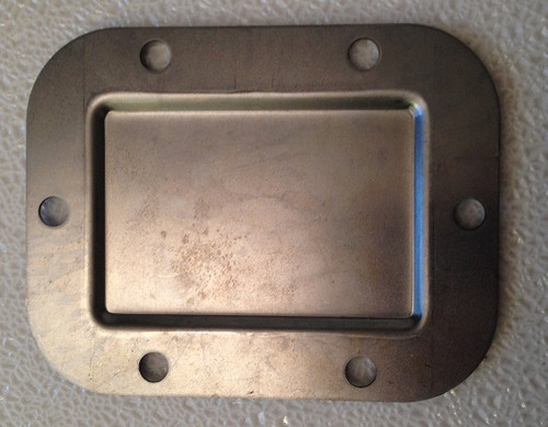 PTO COVER, 6-HOLE METAL, FITS NP203 NP205 NP241DHD G360 SM465 T18 T19 T98 NV4500 NV5600 NP435 S5-42 S5-47 S5-47M S6-650 S6-750 , T53-160B , 301756,   TRANSFER CASE PARTS , TRANSMISSION PARTS, GEARBOX SPARES , POWER TAKE OFF COVER, TRANSFER BOX SPARES,
