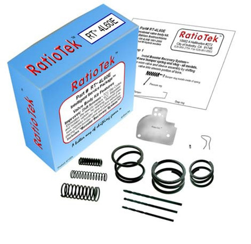 4L60E 4L65E TRANSMISSION VALVE BODY KIT CONVERTS EC3 & FIXES CODE 1870 FITS  '96-'06 RATIO TEK RT-4L60E