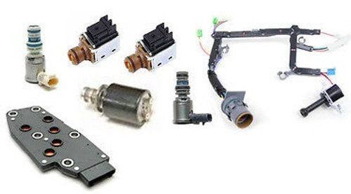 4L60E TRANSMISSION SOLENOID KIT WITH HARNESS 7-PIECE FITS '96-'02