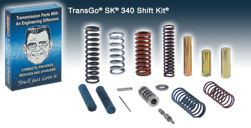 TOYOTA A340 A341 A343 & JEEP AW4 AUTOMATIC TRANSMISSION: TRANSGO SK340 SHIFT KIT '85+,  T97165, AW4 PARTS, TRANSMISSION PARTS, A340E PARTS, AW4 REBUILD, A340E REBUILD, GEARBOX SPARES,