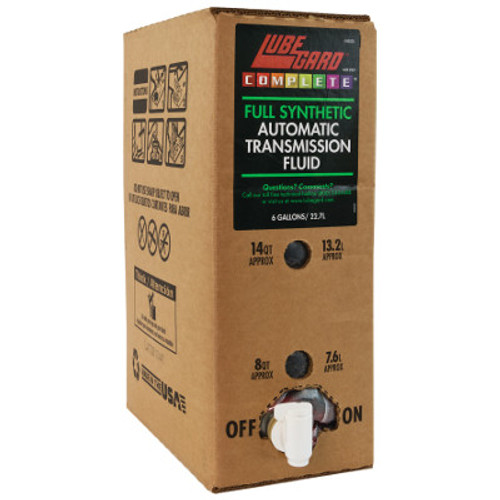 LUBEGARD COMPLETE FULL SYNTHETIC ATF AUTOMATIC TRANSMISSION FLUID 6 GALLONS , 22.71L , 69005 , M465TF-6 , TRANSMISSION REBUILD, TRANSMISSION OVERHAUL, GEARBOX SPARES,