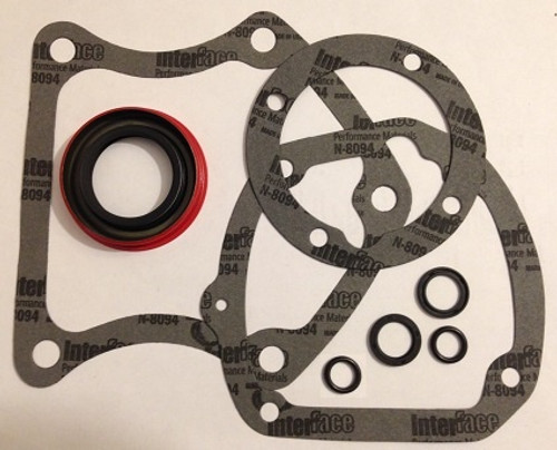 MUNCIE 318 3-SPEED (NO OVERDRIVE) TRANSMISSION OVERHAUL KIT: GASKETS SEALS  O-RING FITS '53-'69 GM (GSK131A)