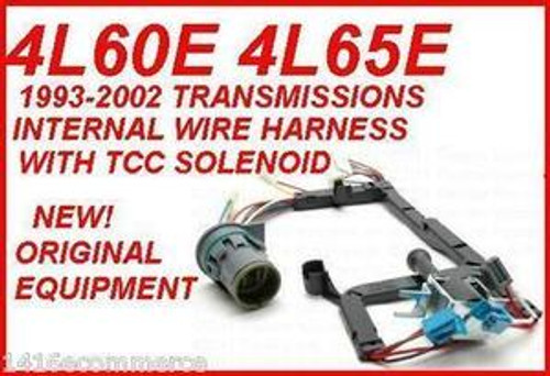 4L60E 4L65E TRANSMISSION SOLENOID, TCC & WIRE HARNESS BY ROSTRA FITS on 1998 4l60e sensor harness, 4l60e hoses, 4l60e to 4l80e, 4l60e oil pan, 4l60e transfer case, 4l60e shifter, 4l60e transmission, 4l60e power wire,
