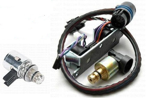 A500 42RE 44RE A518 46RE 46RH A618 47RE 47RH TRANSMISSION DUAL SOLENOID KIT  WITH BORG-WARNER GOVERNOR PRESSURE SOLENOID FITS '96-'99 SOME '00