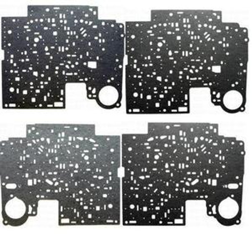 4L60E 4L65E TRANSMISSION VALVE BODY GASKETS KIT BY TRANSTEC UPPER & LOWER FITS '93+ , 74320K , 24211920, 8681603 , 24211921, 8681606, TRANSMISSION PARTS, GEARBOX SPARES,