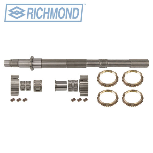 SUPER T10 TRANSMISSION ROLLERIZED MAIN SHAFT KIT BY RICHMOND GEAR 32-SPLINE S6-10-32-32 FITS '74-'82 GM , 1304671010 , transmission parts, gearbox spares, piezas, transmisiones,