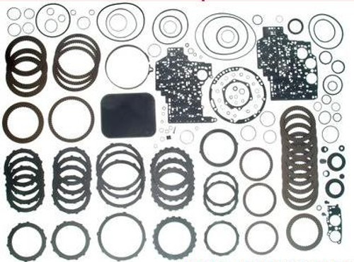 4L80E 4L85E TRANSMISSION PERFORMANCE REBUILD KIT WITH PISTONS, FILTER, BUSHINGS, BANDS, KOLENE STEELS, & RED EAGLE FRICTIONS FITS '97+ , A34008EBHP, transmission parts, gearbox spares, piezas, transmisiones,