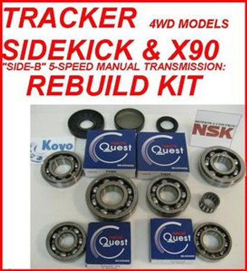 Transmission & Drive Train Geo Tracker Suzuki Sidekick X-90 ...