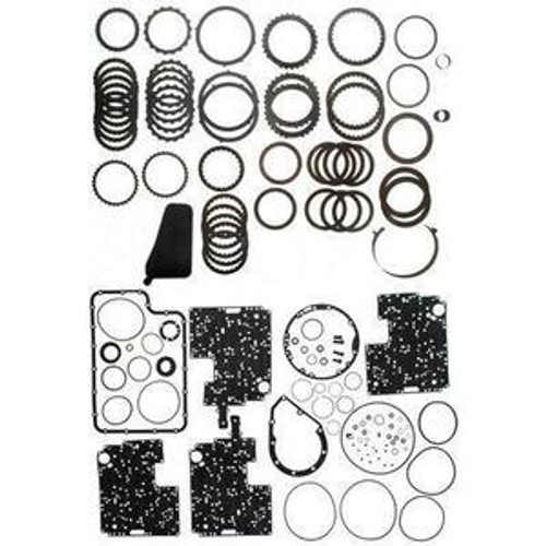 4R100 TRANSMISSION SUPER REBUILD KIT W/ PISTONS, STEELS, FILTER, BORG-WARNER FRICTIONS & BAND FITS '98+ FORD 36008EDPW , 4R100 TRANSMISSION PARTS , 4R100 REBUILD , 4R100 OVERHAUL