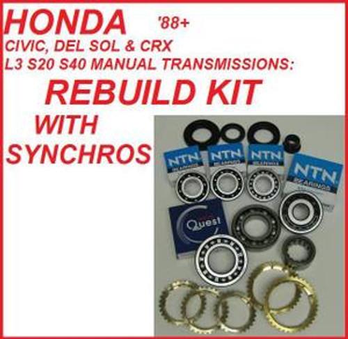 honda civic manual transmission overhaul