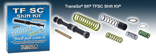 A727 A904 30RH 32RH TRANSMISSION TRANSGO TF-SC Shift Kit® FITS '65-'04 T22165 , A727 SHIFT KIT , A904 SHIFT KIT , 30RH SHIFT KIT , 32RH SHIFT KIT , A727 TRANSMISSION PARTS , A904 TRANSMISSION PARTS, DODGE, JEEP, PLYMOUTH,