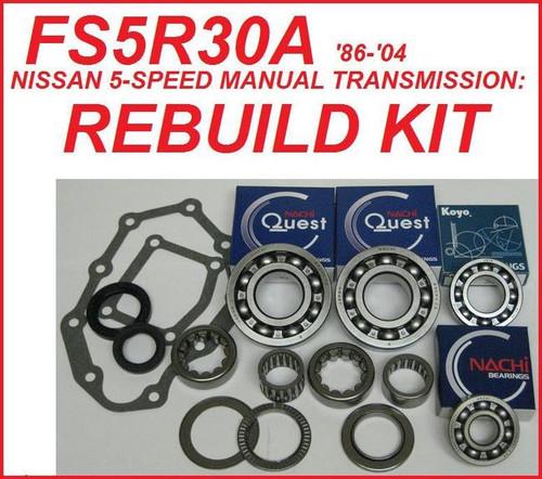 Fits Nissan FS5R30A 300ZX Pathfinder D21 Truck Transmission Rebuild Kit 6 Cyl