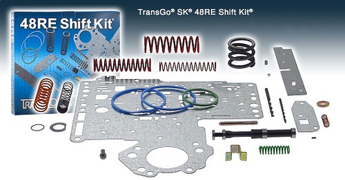 48RE TRANSMISSION SHIFT KIT Transgo SK®48RE FITS '03-'08 DODGE DIESEL & '03 V10 T22165C,  48RE PARTS , 48RE REBUILD , 48RE VALVE BODY,