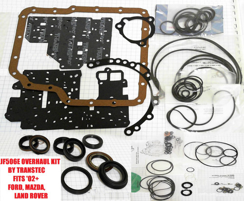 JF506E JA5A-EL TRANSMISSION OVERHAUL KIT BY TRANSTEC WITH GASKETS RINGS  SEALS ETC FITS MAZDA FORD LAND ROVER '02+
